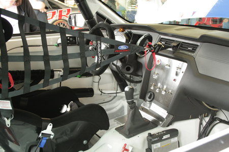 Mustang Boss 302R Interior at Rolex 24, Daytona