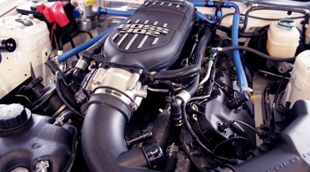 Boss 302R engine for Grand-Am GS Mustang - Detail
