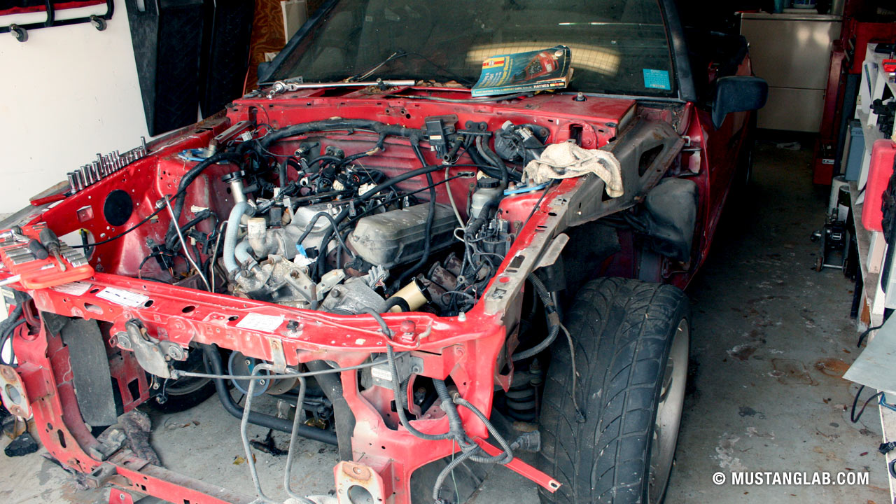 Preparing a 1994 Mustang for 24 Hours of Lemons