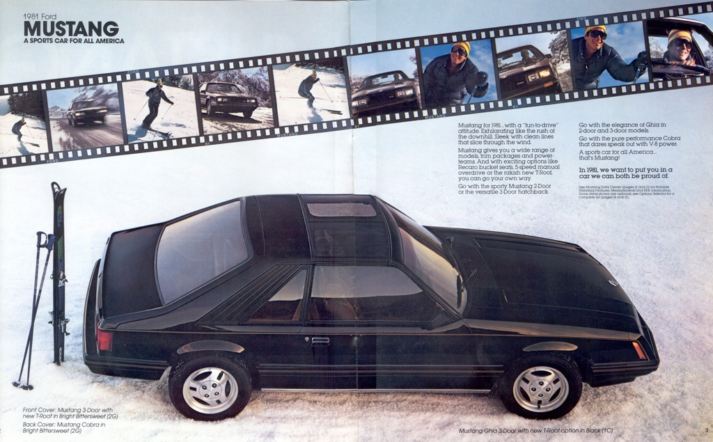 1981 Mustang Specifications Performance Data