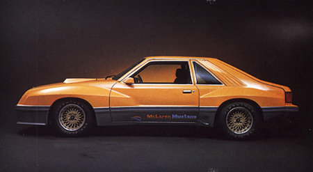 1980 M81 McLaren Mustang in Bittersweet Orange