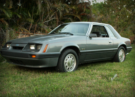 1985 mustang lx coupe for sale