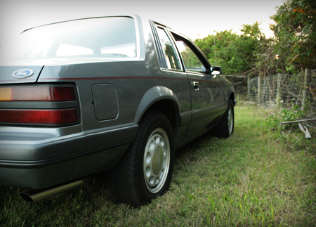 1985 mustang lx coupe for sale quarter