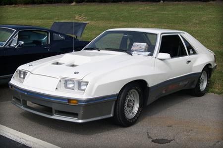 1980 M81 McLaren Mustang in white